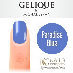 Nails company paradise blue gelique by michał szpak