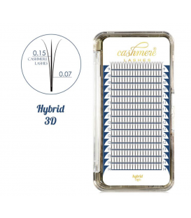 Cashmere Lashes hybrid 3D wonder lashes C 0,07 i 0,15 mix 9-14