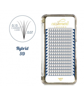 Cashmere Lashes hybrid 5D wonder lashes C 0,07 i 0,15 mix 9-14